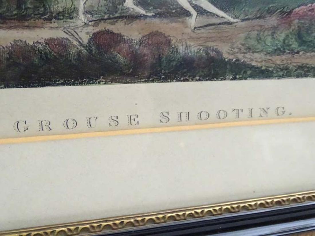 Shooting: Early XIX Flintlock Game Shooting,  A pair of - 7