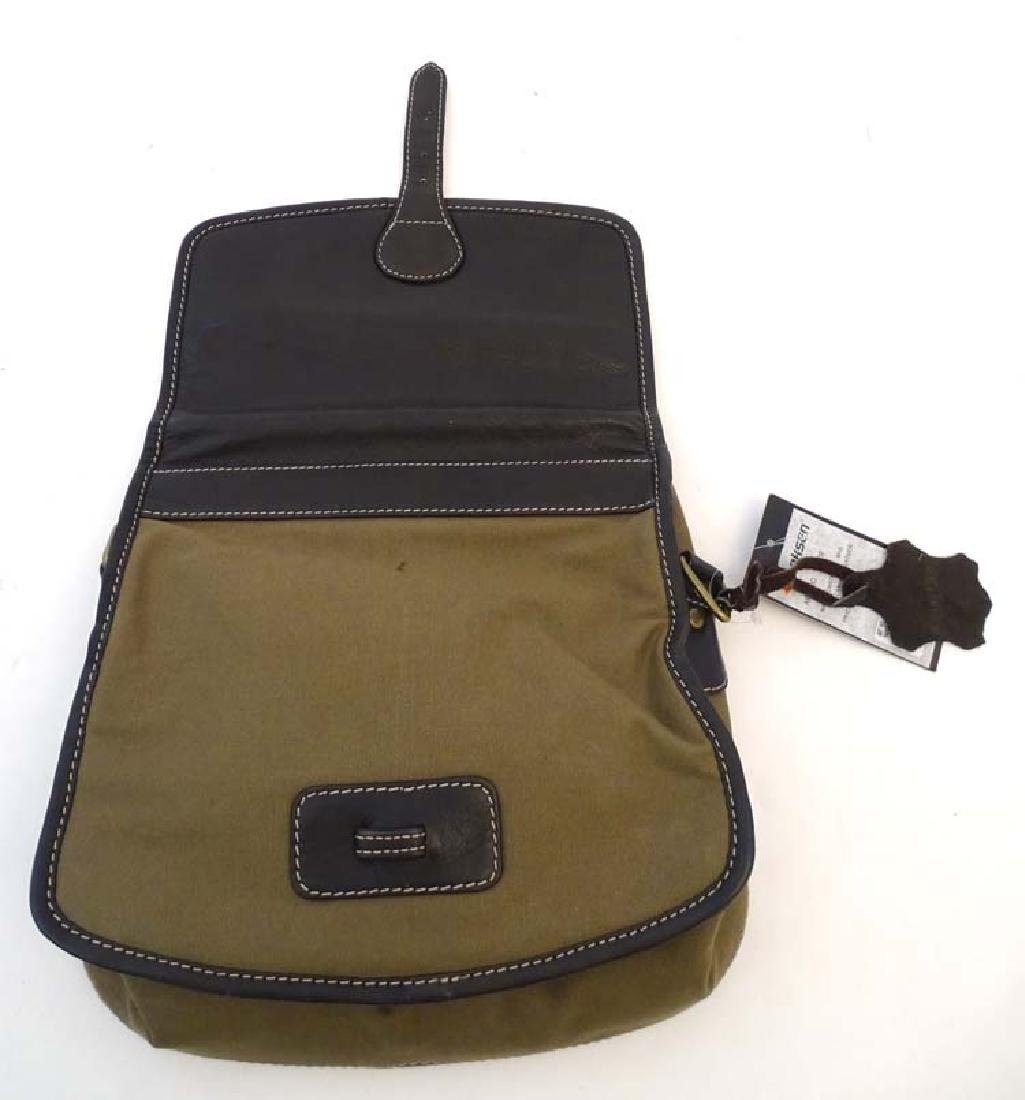 Shooting: A Laksen canvas and leather cartridge bag - 2
