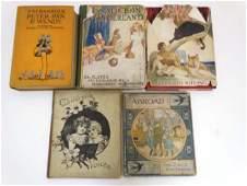 Books: Five children books comprising 'Peter Pan &