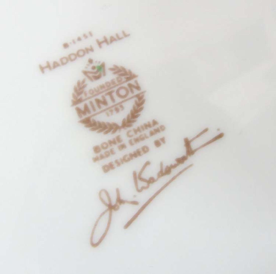 Minton Haddon Hall: A large quantity of green rim - 2