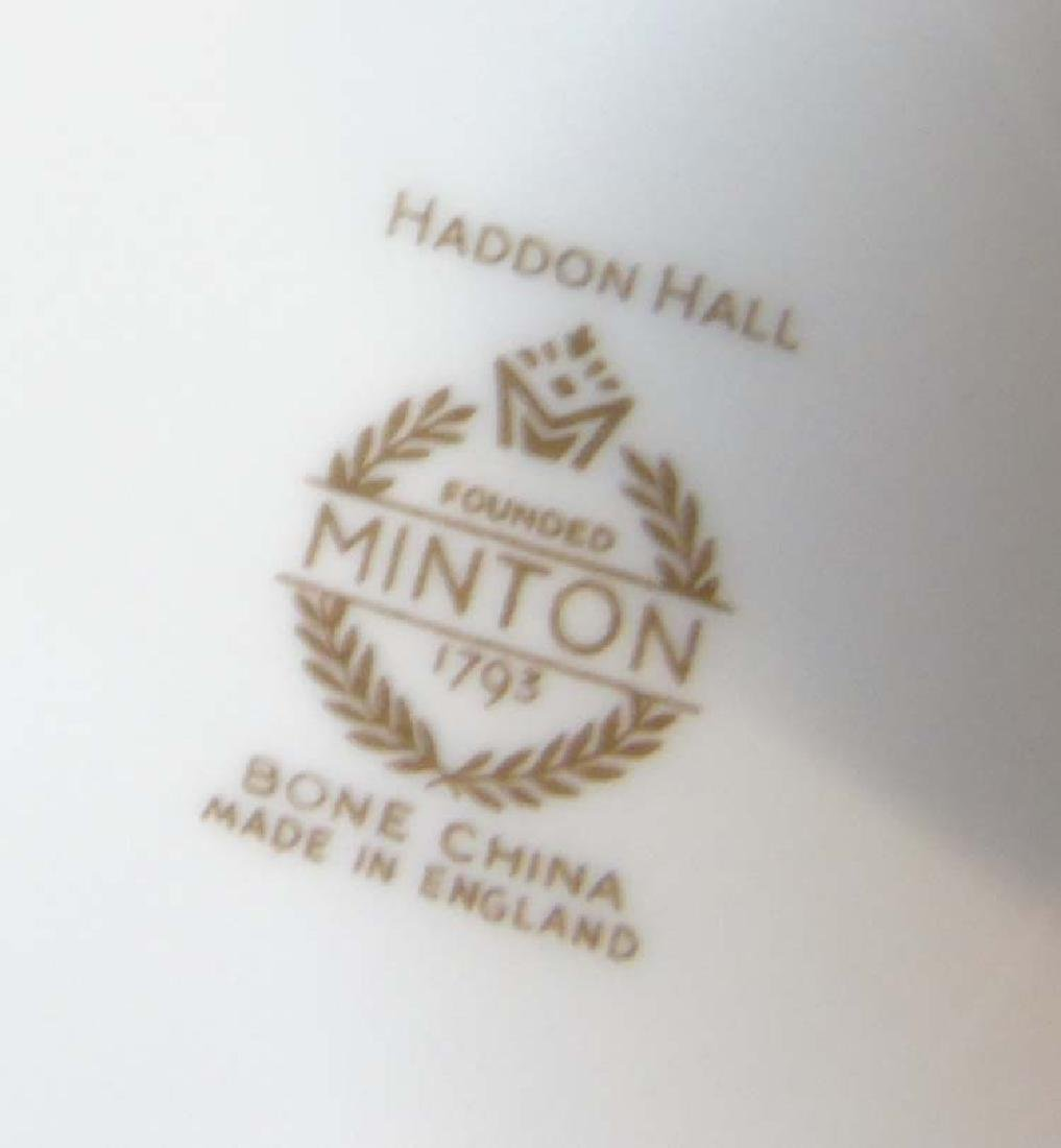 Minton Haddon Hall: A large quantity of green rim - 8