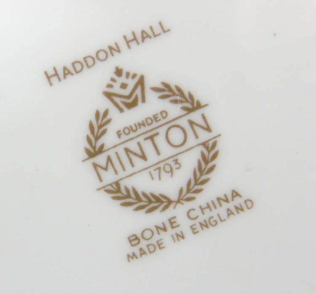 Minton Haddon Hall: A large quantity of green rim - 9