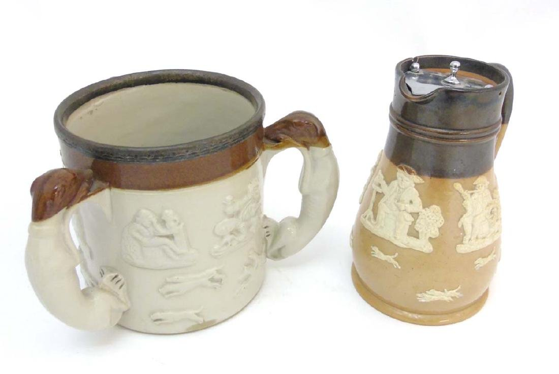 Two ceramic items comprising an early 20thC Royal