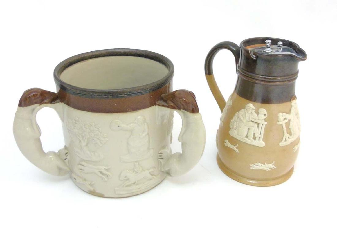 Two ceramic items comprising an early 20thC Royal - 4