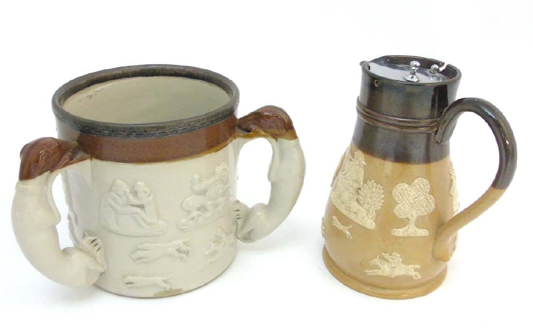 Two ceramic items comprising an early 20thC Royal - 5