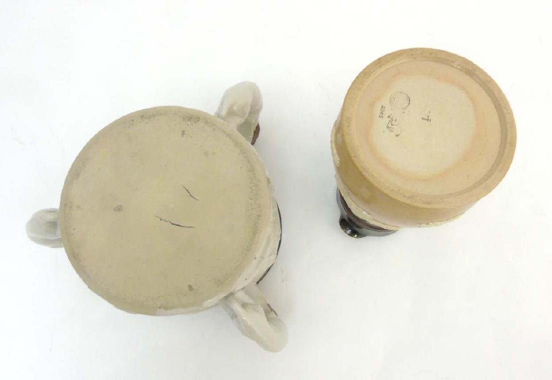 Two ceramic items comprising an early 20thC Royal - 8