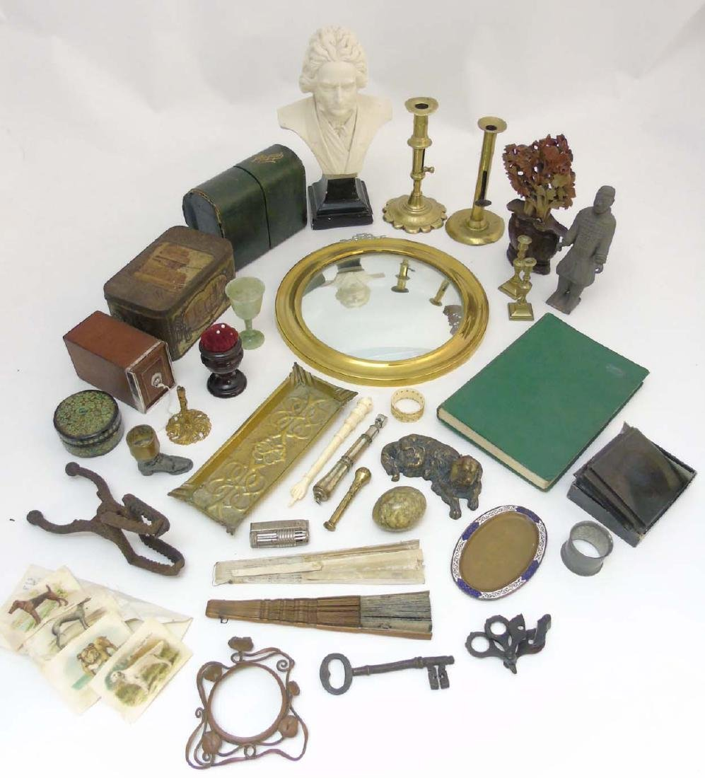 A box containing a quantity of assorted items to