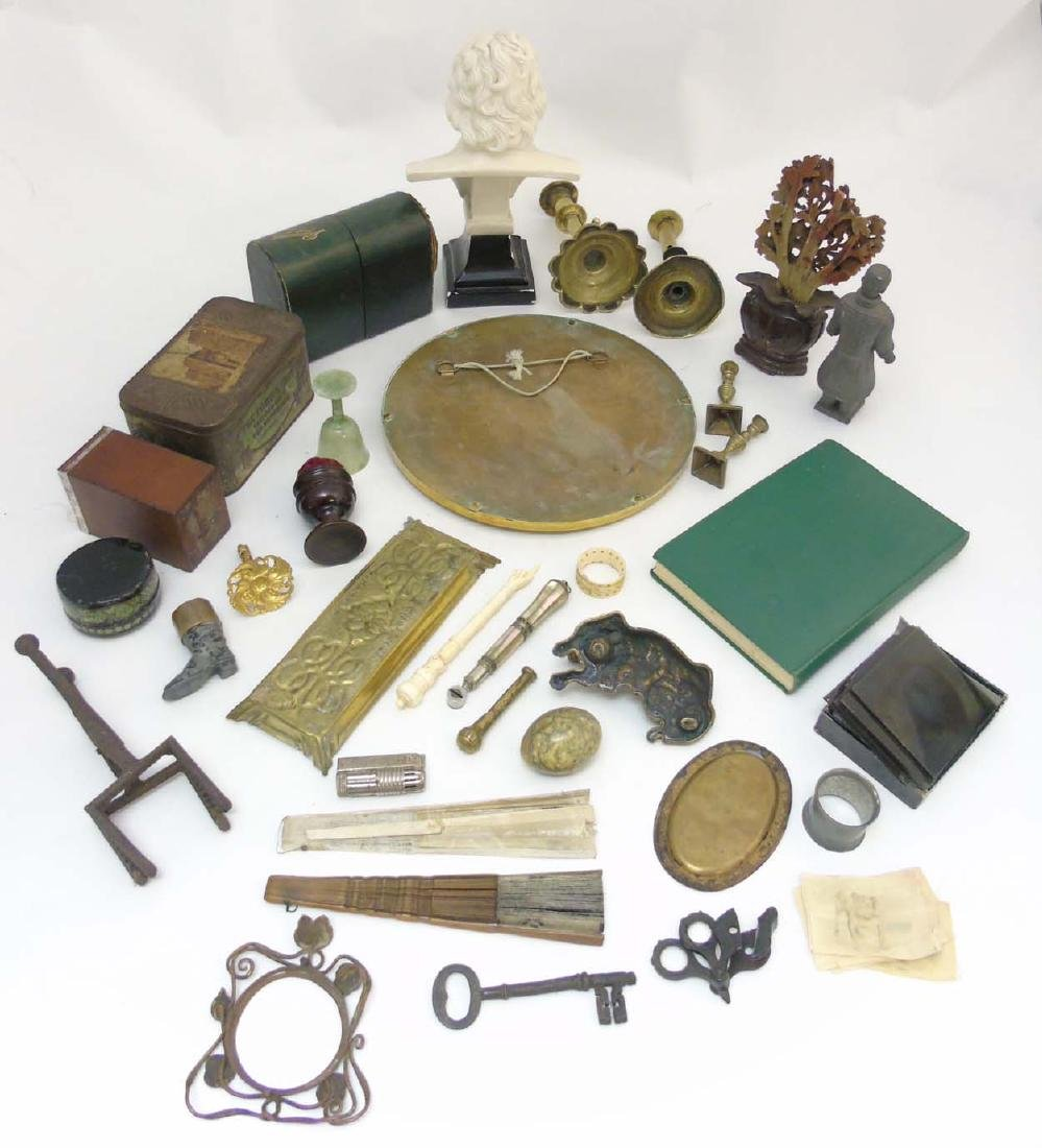 A box containing a quantity of assorted items to - 2