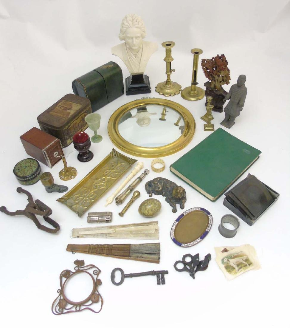 A box containing a quantity of assorted items to - 3