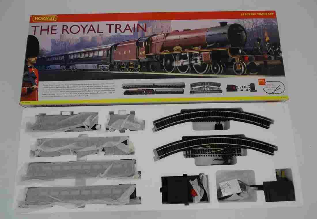 A boxed Hornby The Royal Train 'Princess Elizabeth'