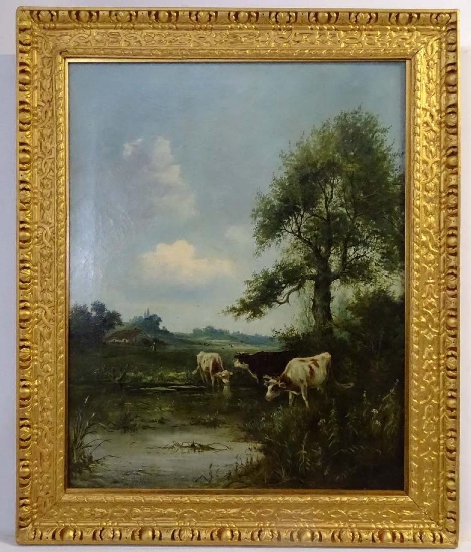 George Vicat Cole (1833 - 1893),  Oil on canvas,