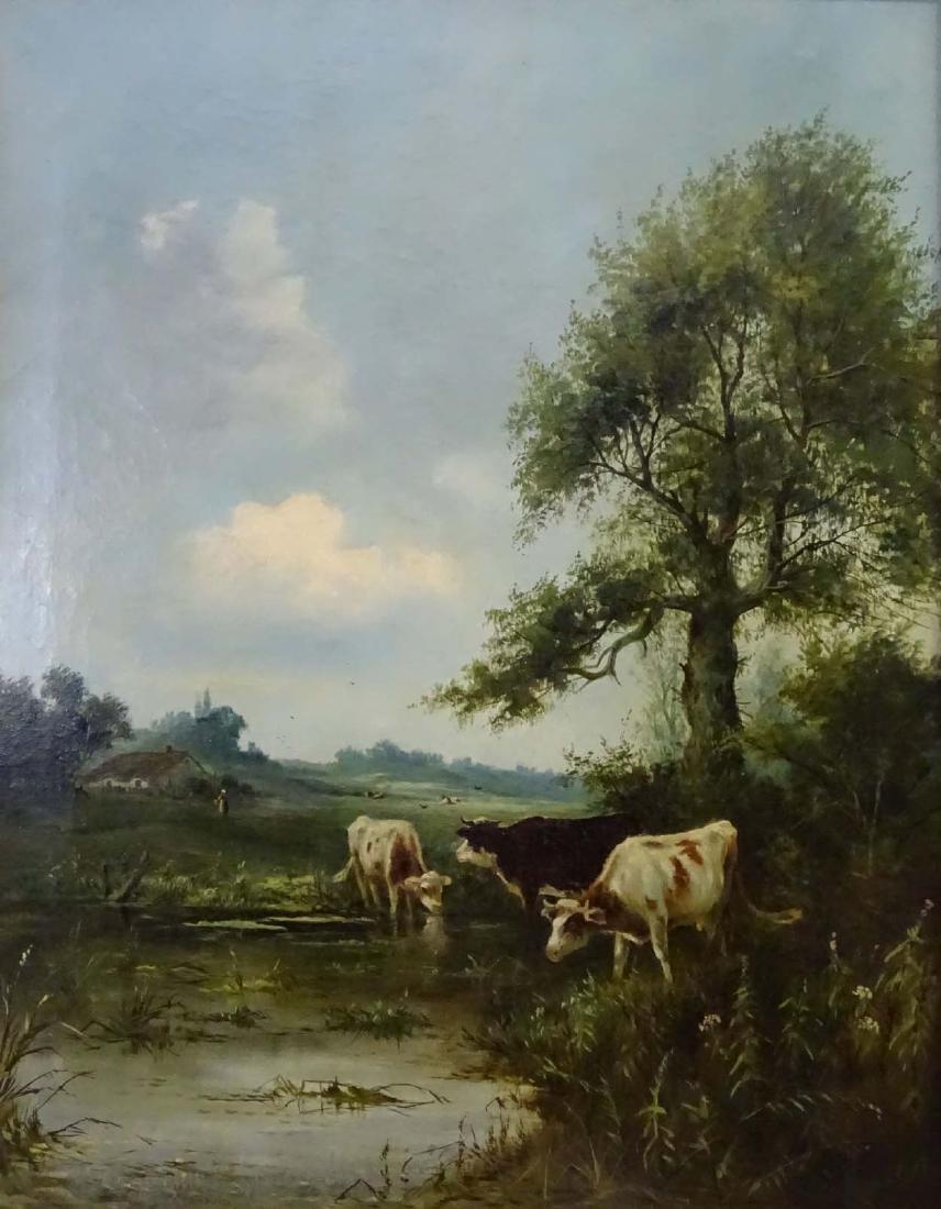 George Vicat Cole (1833 - 1893),  Oil on canvas, - 4