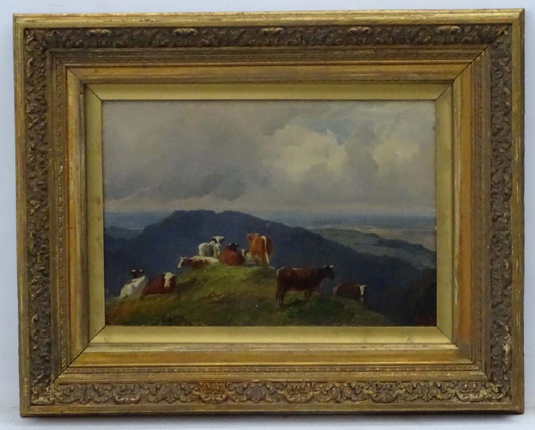 Friedrich Johann Voltz (1817 - 1886) German, Oil on