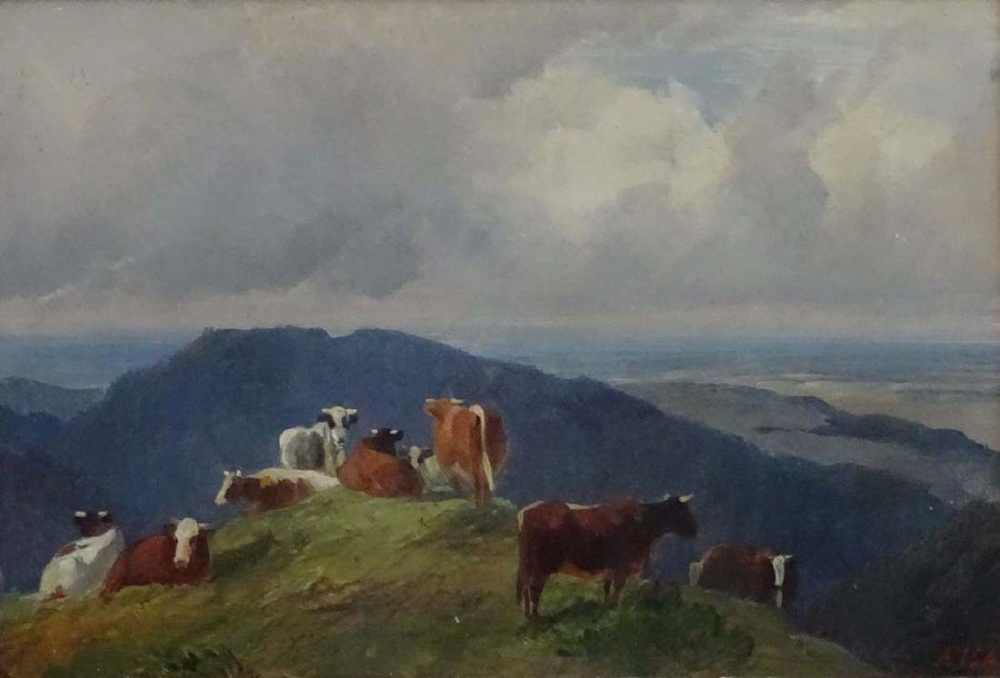Friedrich Johann Voltz (1817 - 1886) German, Oil on - 3