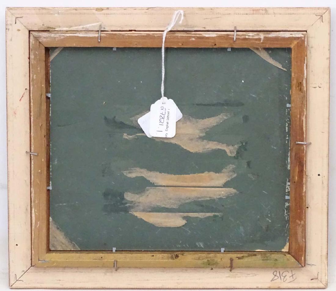 Early XX English School, Oil on board, River Landscape, - 2