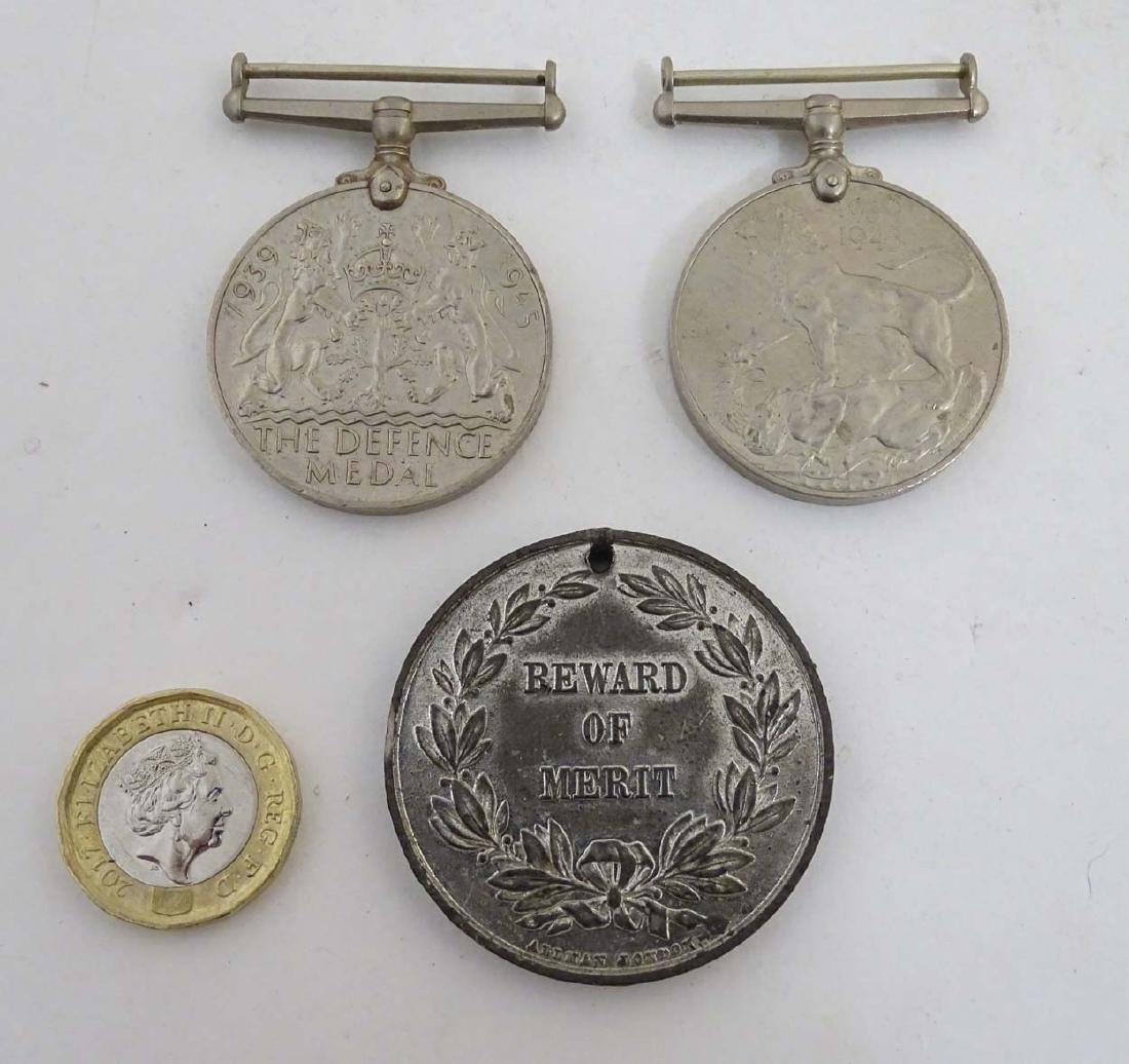 Militaria : A 1939-1945 War Medal, together with