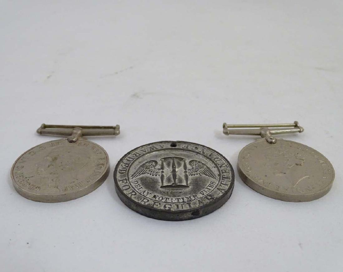 Militaria : A 1939-1945 War Medal, together with - 3