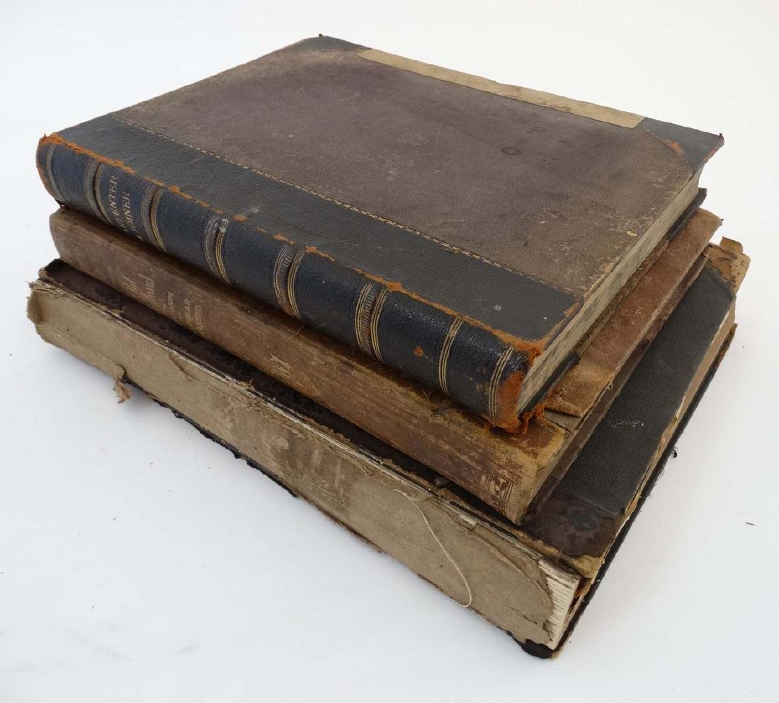 Books: A quantity of three books to include 'The