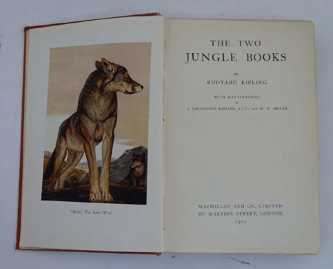 Books: 'The Two Jungle Books' by Ruyard Kipling with - 5