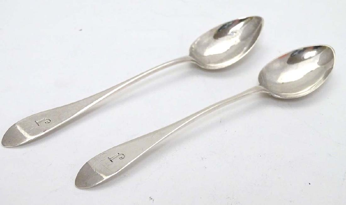 Scottish Provincial Silver : A pair of early 19thC