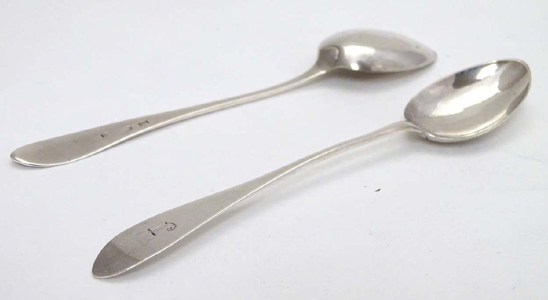 Scottish Provincial Silver : A pair of early 19thC - 5
