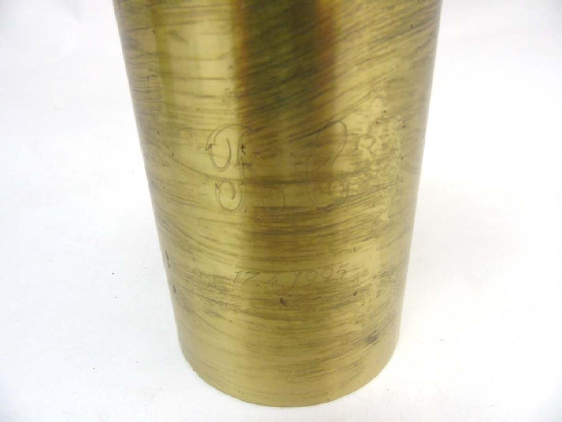 A Finnish brass candle stand  by  Tapio Wirkkala for - 5