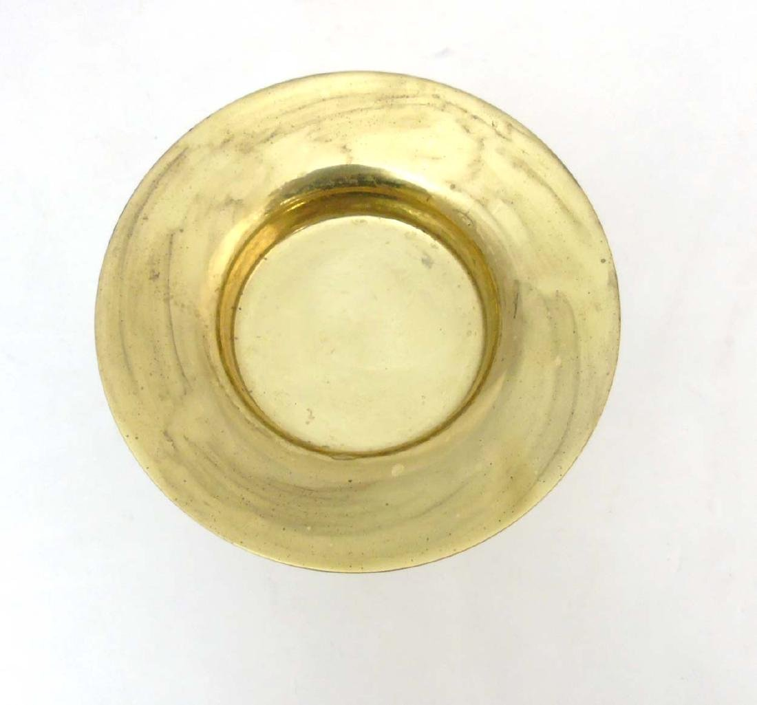 A Finnish brass candle stand  by  Tapio Wirkkala for - 6