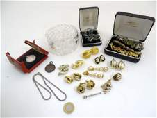 Assorted jewellery etc to include various bracelets