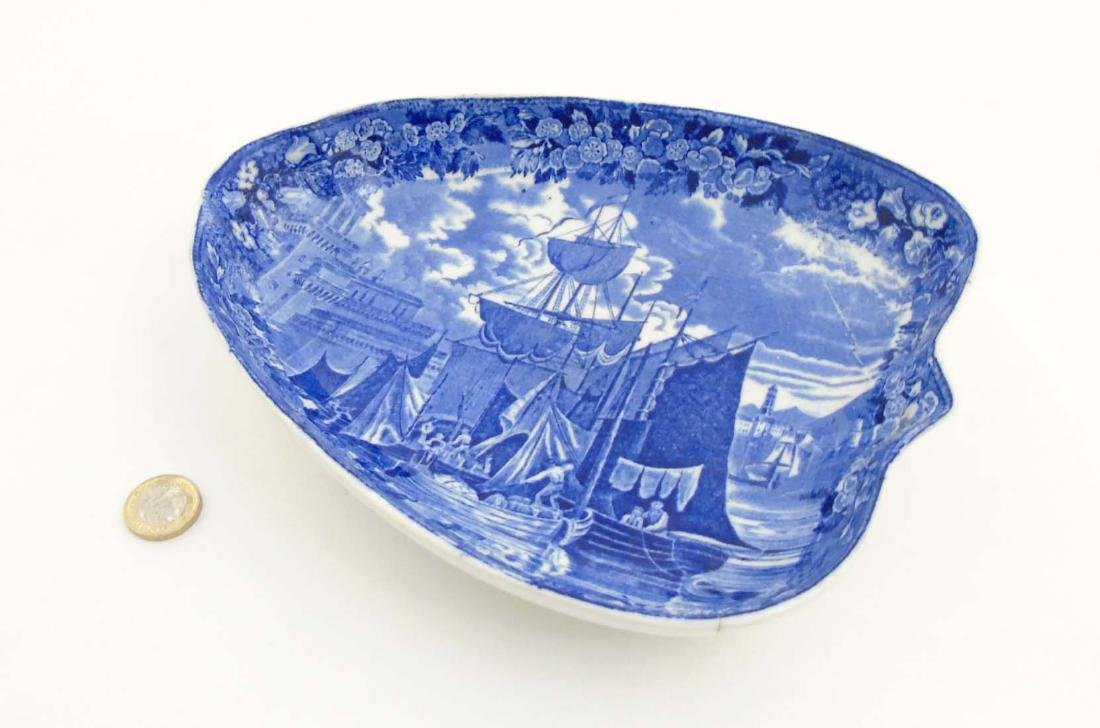 A late 19thC / early 20thC Wedgwood Etruria blue - 3