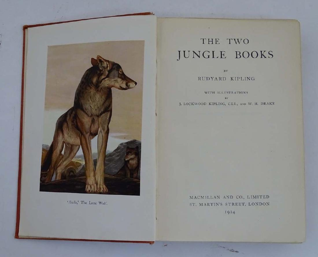 Books: 'The Two Jungle Books' by Ruyard Kipling with - 6