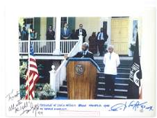 Donovan Gopi  colour Photoprint of Nelson Mandela at