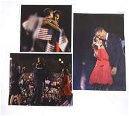Souza : three coloured photo- prints of the Obama