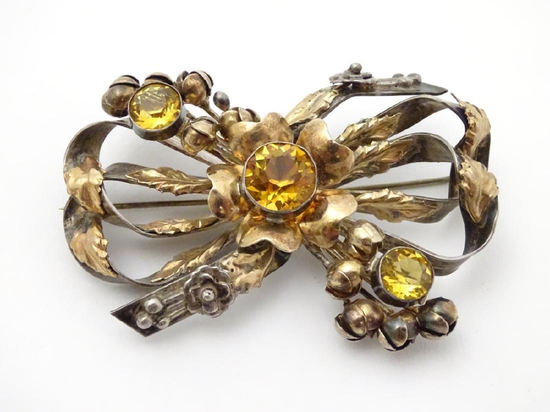 American Vintage Costume Jewelery by Hobé : A silver