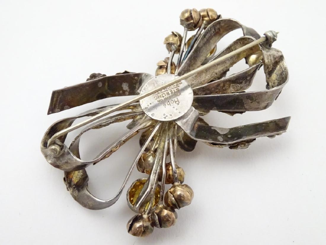 American Vintage Costume Jewelery by Hobé : A silver - 4
