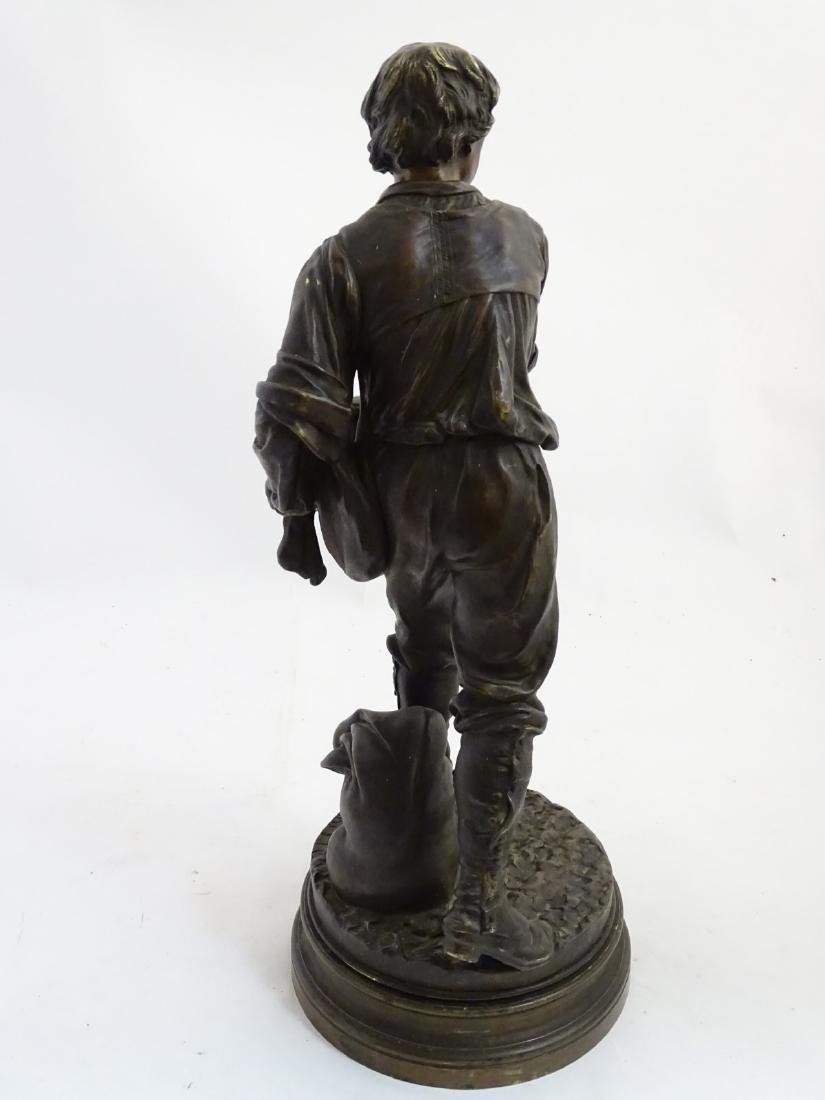 Henri Honore Ple (1852-1922) Patinated bronze sculpture - 10
