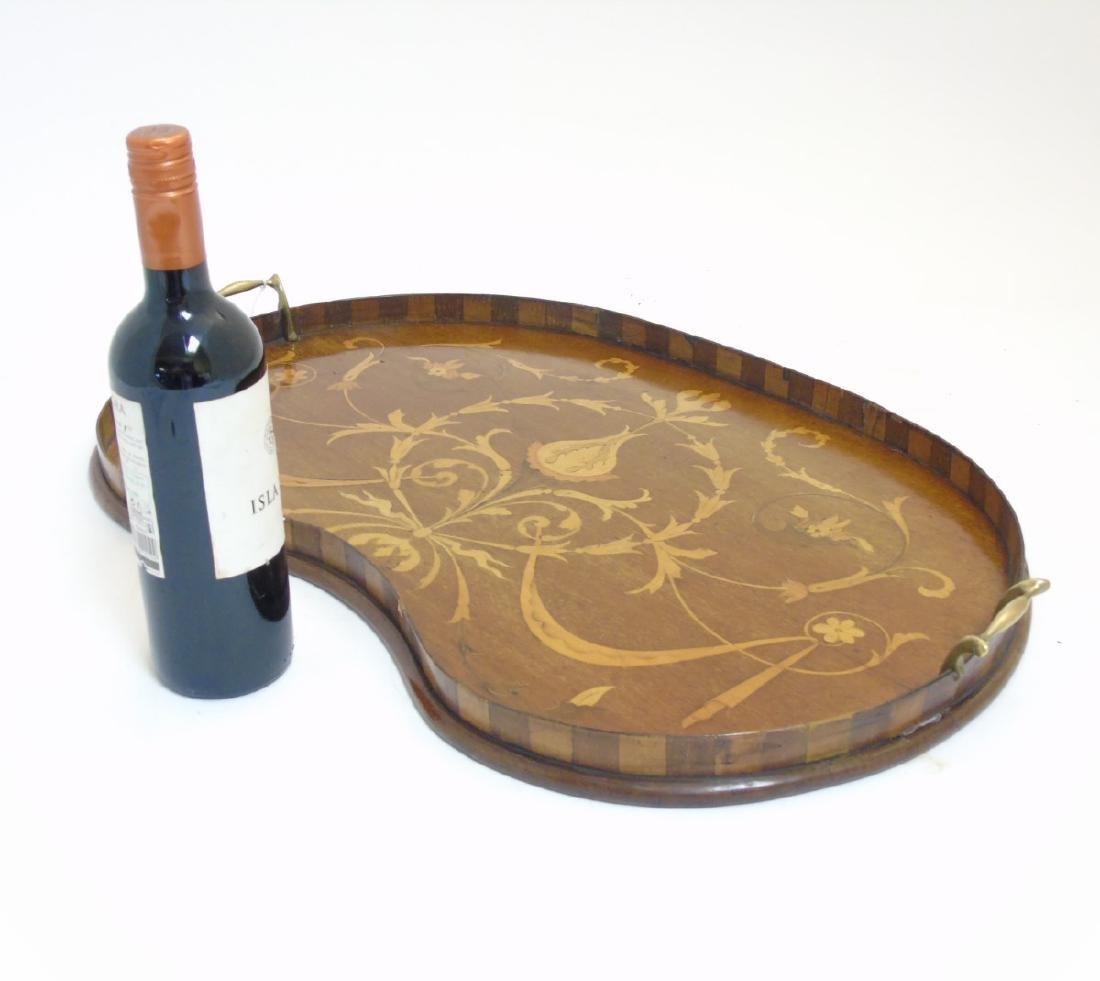 An Edwardian inlaid mahogany and Sheraton revival - 2