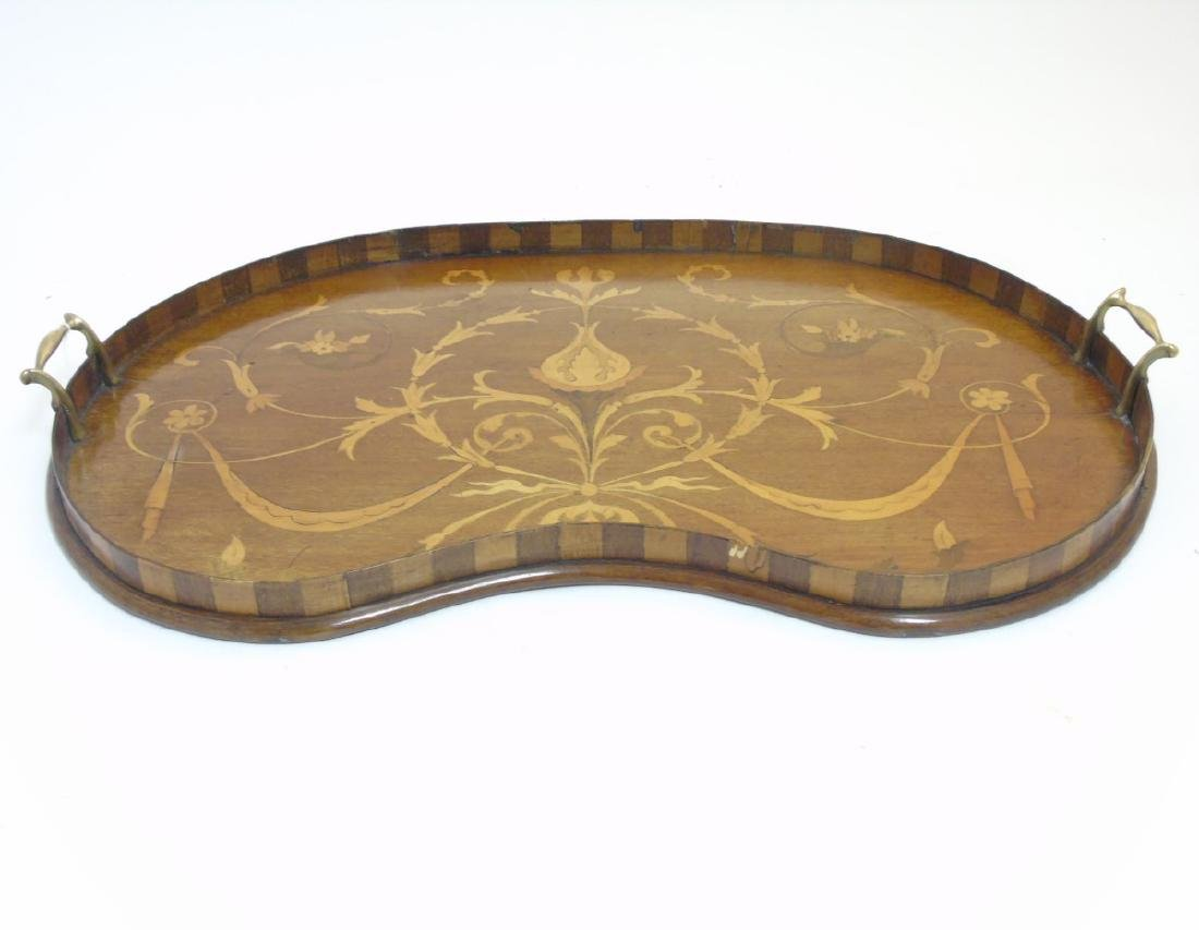An Edwardian inlaid mahogany and Sheraton revival - 3