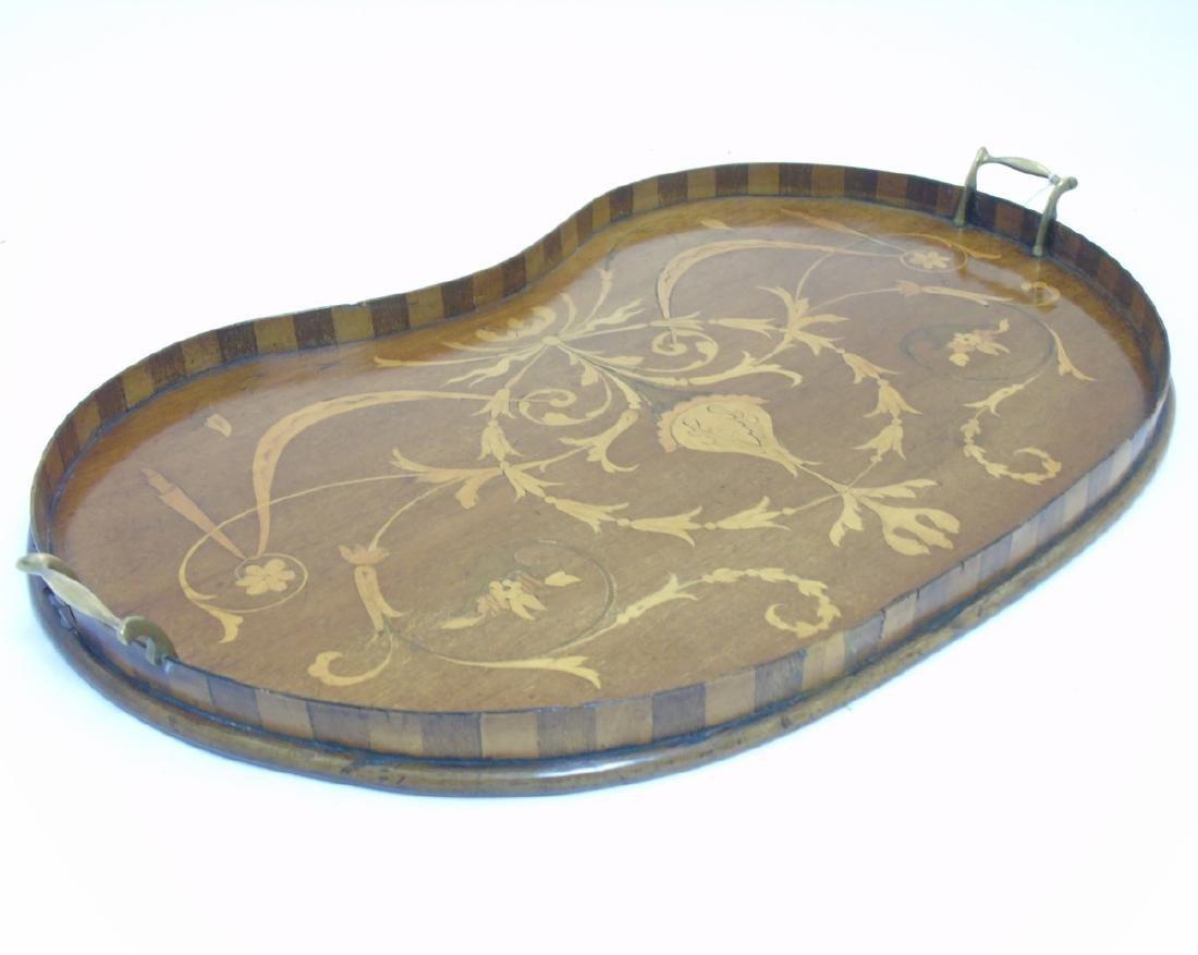 An Edwardian inlaid mahogany and Sheraton revival - 5