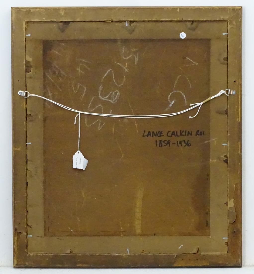 Lance Calkin (1859-1936) ROI, Oil on canvas board, - 2