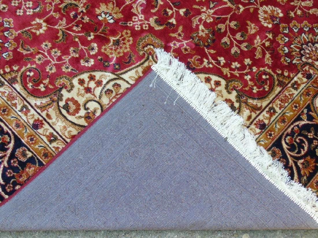 Rug / Carpet : Keshan machine made carpet with red - 2