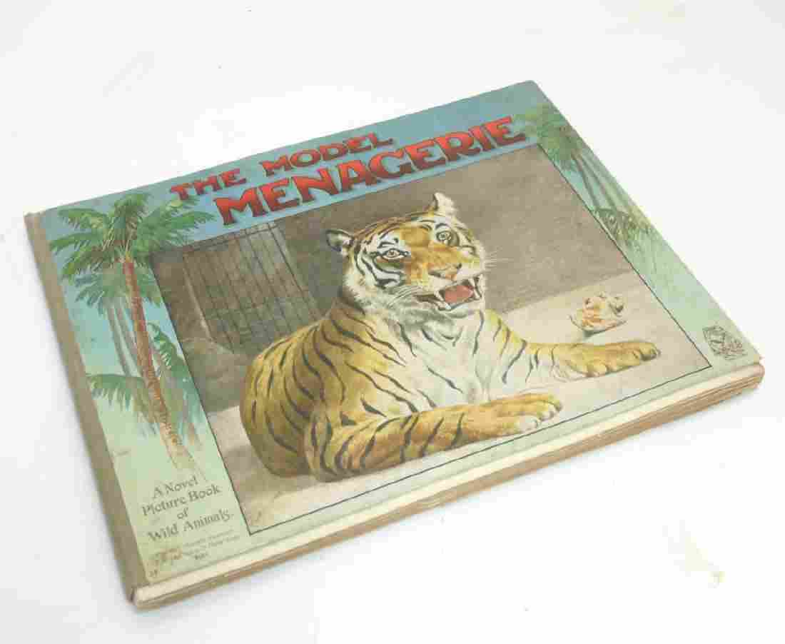 Pop-Up Book: 'The Model Menagerie: a Novel Picture Book