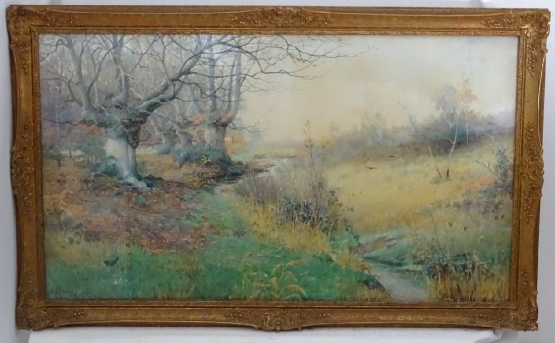 Albert Kinsley (1852-1945), Watercolour, '' The