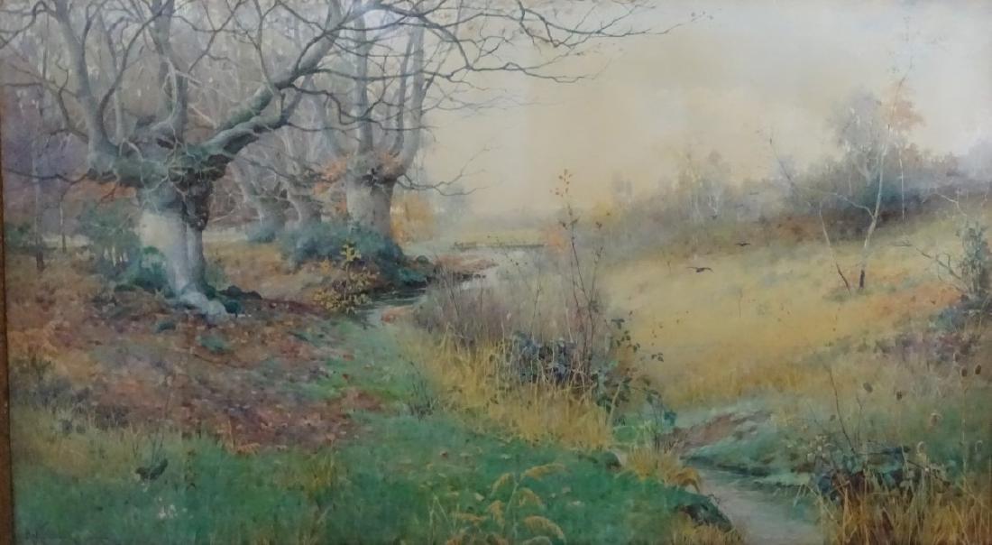 Albert Kinsley (1852-1945), Watercolour, '' The - 3