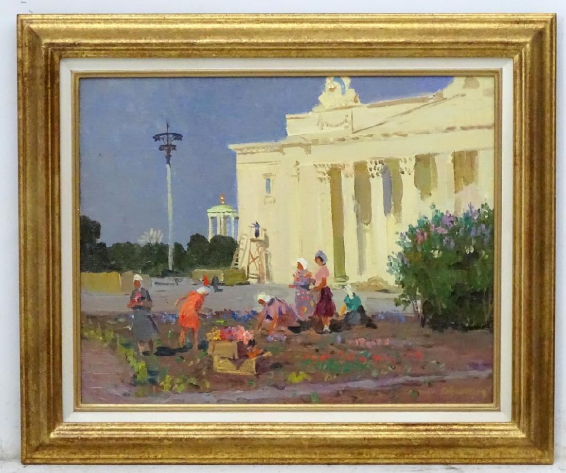Mikhail Filipovitch Volodin (1912-1987), Russian. Oil