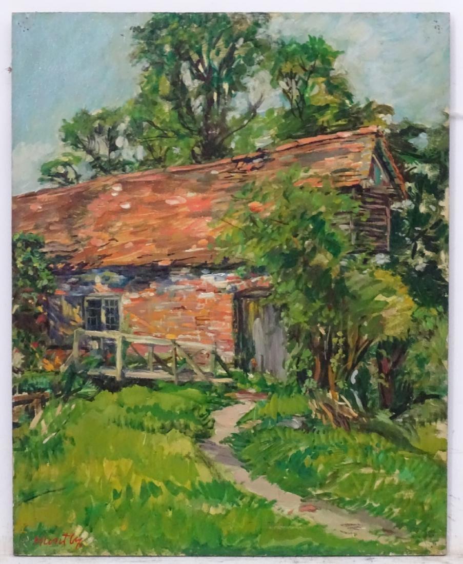 Nancy Weir (Sheppard) Huntly (1890-?), Oil on board, - 2