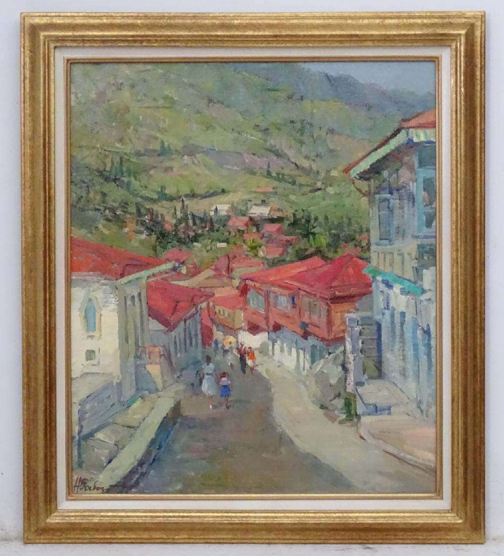Nikolai Nikolaevitch Babasyuk (1939-2006), Russian. Oil