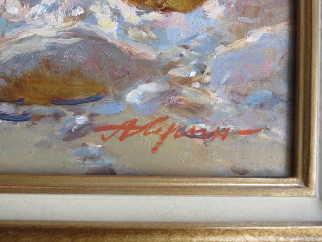 Alexandre Averin (b.1952), Russian.  Oil on canvas, - 2