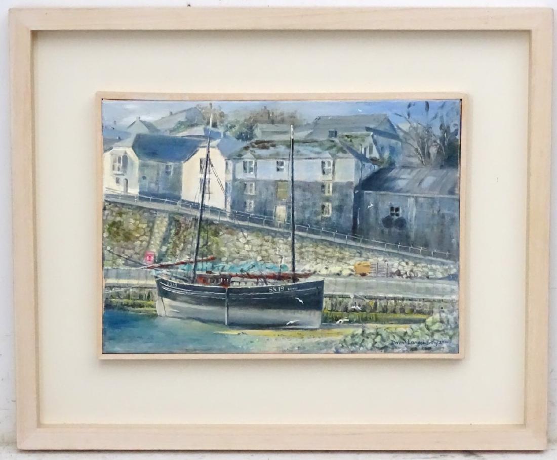 David Langsworthy 2010 Cornish School, Oil on canvas,