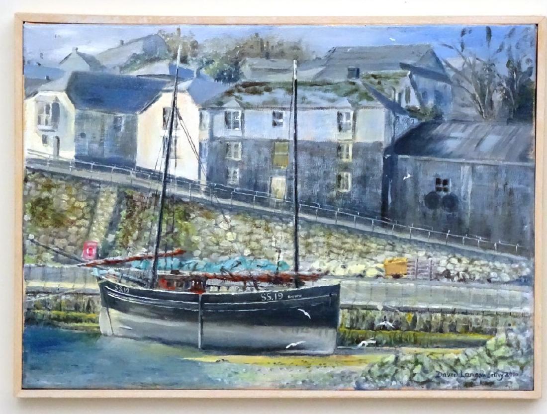 David Langsworthy 2010 Cornish School, Oil on canvas, - 3