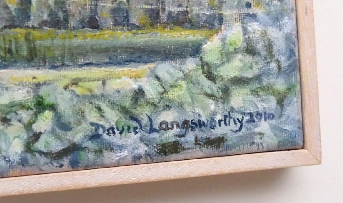 David Langsworthy 2010 Cornish School, Oil on canvas, - 4